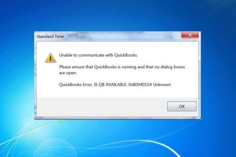 Error 0x80040154: How resolve Outlook Error 0x80040154