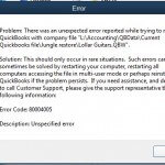 Error Code 80004005: Reason and Solution