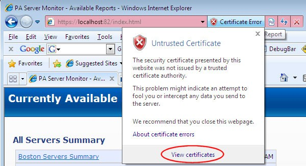 How To View Certificates with MMC Snap In