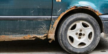 Rust On A Car