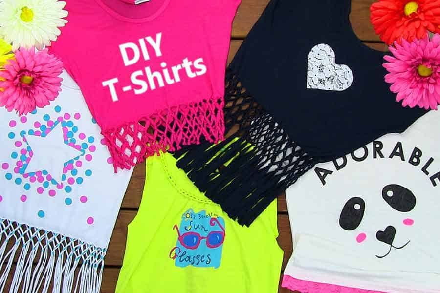 5 DIY Ideas To Upcycle Your Old T-Shirts And Be Summer Ready