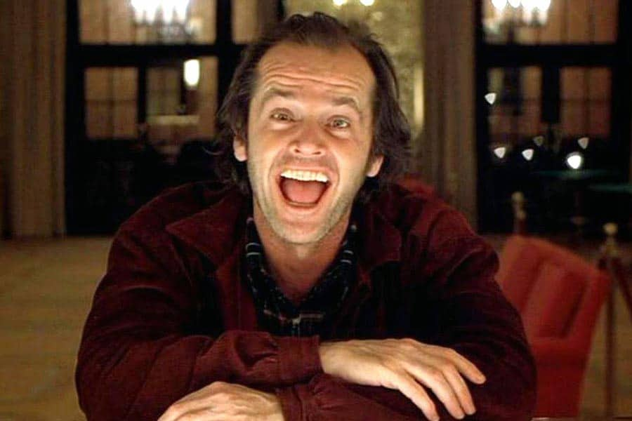 Behind The Scene Of 'The Shining' Jack Nicholson