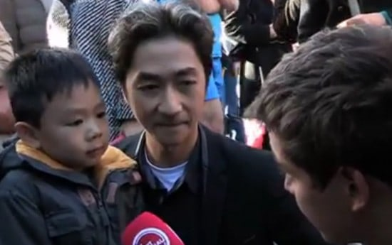 This Is How A Dad & His Son Brought Hope To The Paris Attack Victims!