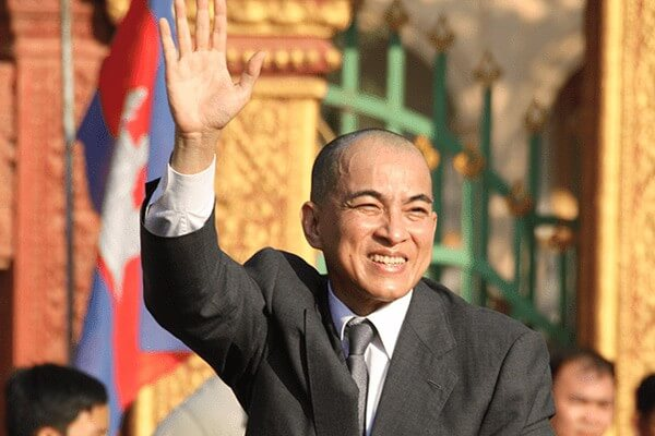 fittest presidents & prime ministers of 2017 - King Norodom Sihamoni