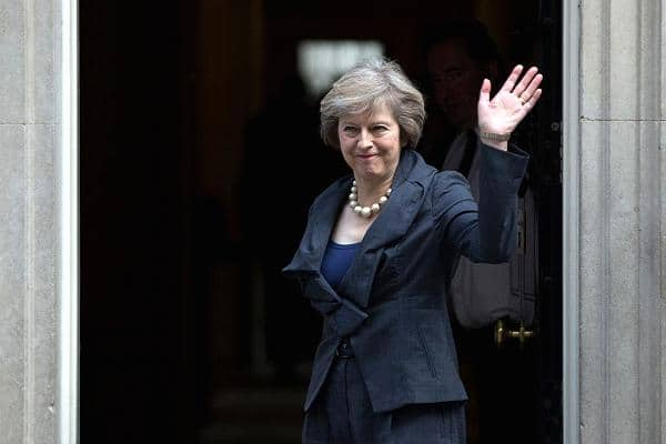 fittest presidents & prime ministers of 2017 - Theresa May