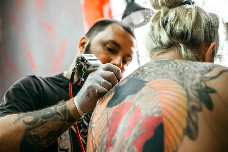 tatto pimples
