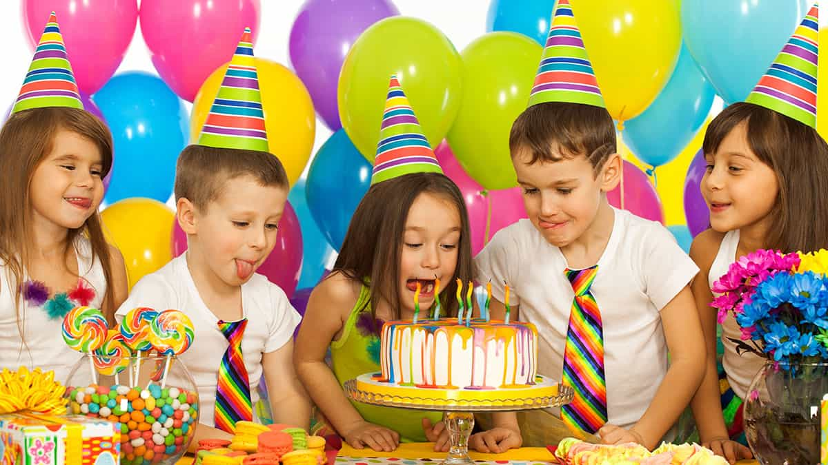 plan kids parties
