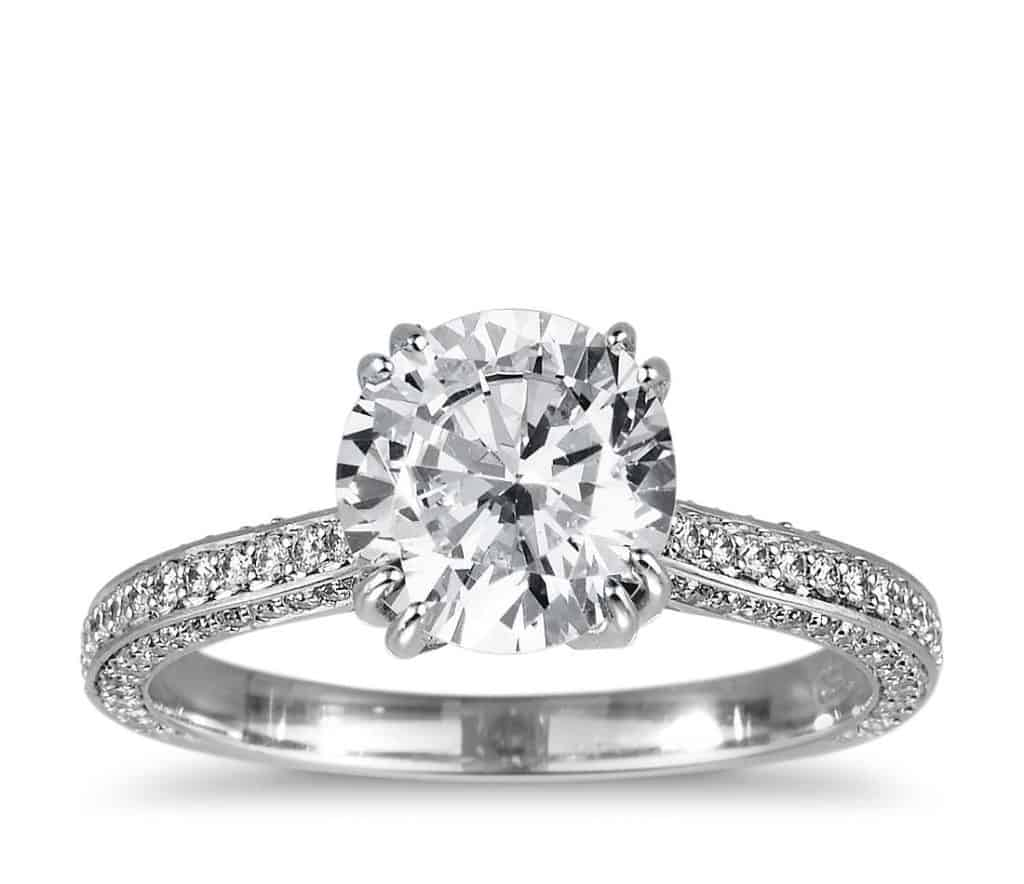 How to Select Cushion Cut Diamond Engagement Ring 1