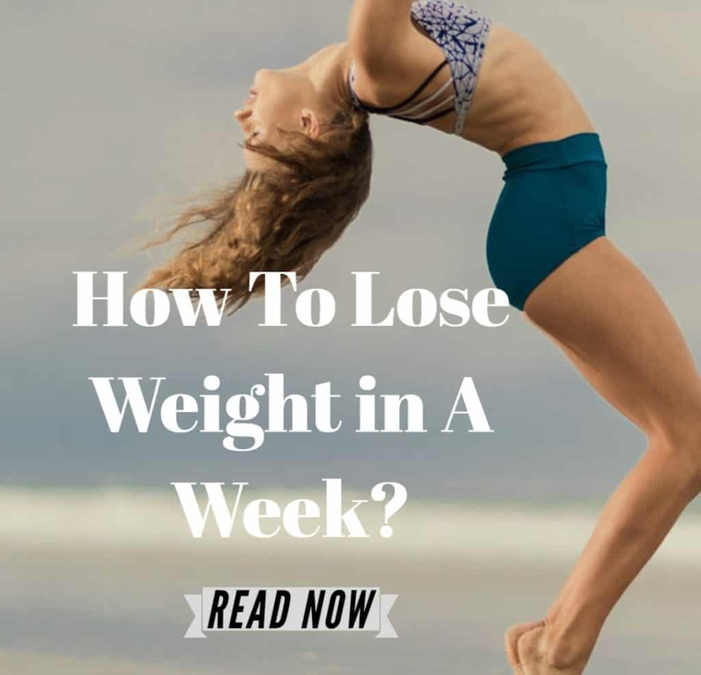 loose weight in a week