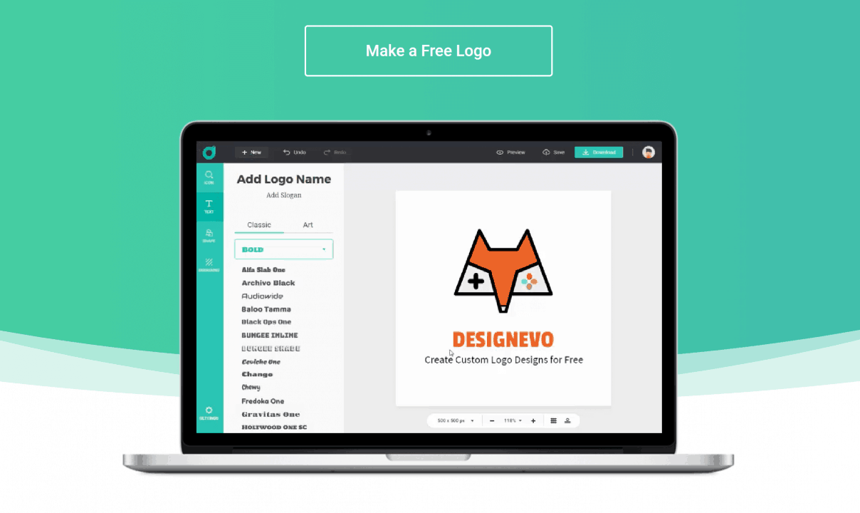 A Simple Guide To Make Professional Logo Using DesignEvo
