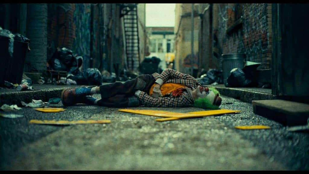 The Narrow Alley scenes on Joaquin Phoenix Joker movie