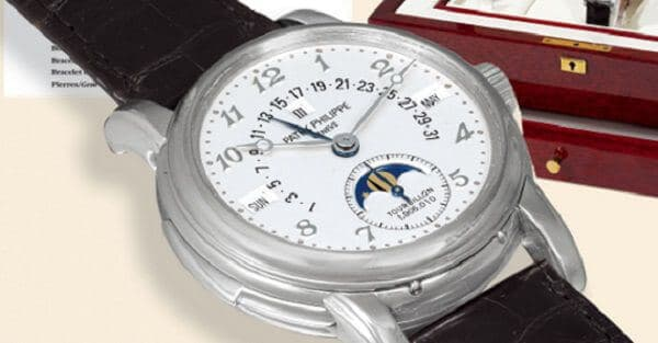Split Seconds Patek Philippe Reference 1436 by Tiffany Co.