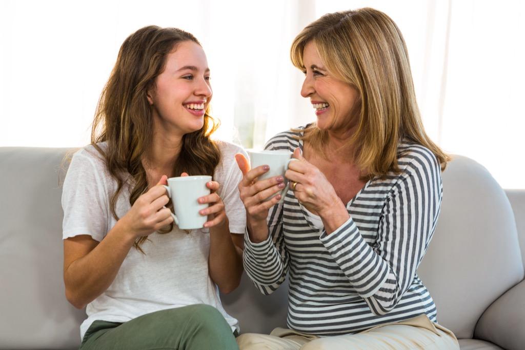 Drinking Tea 01
