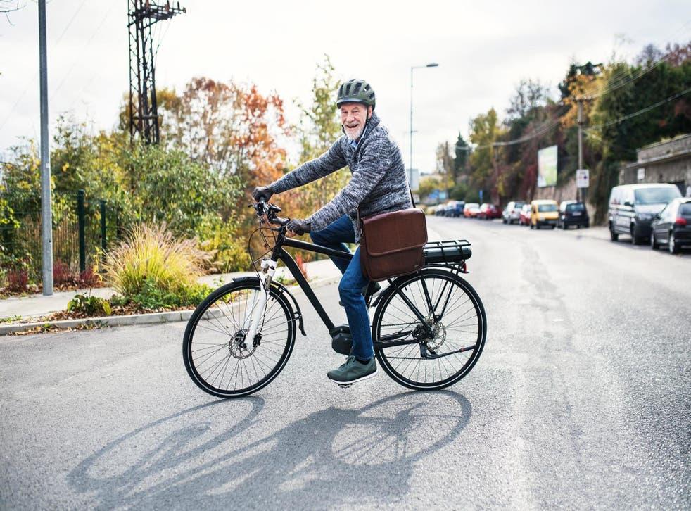 older rider ebiking