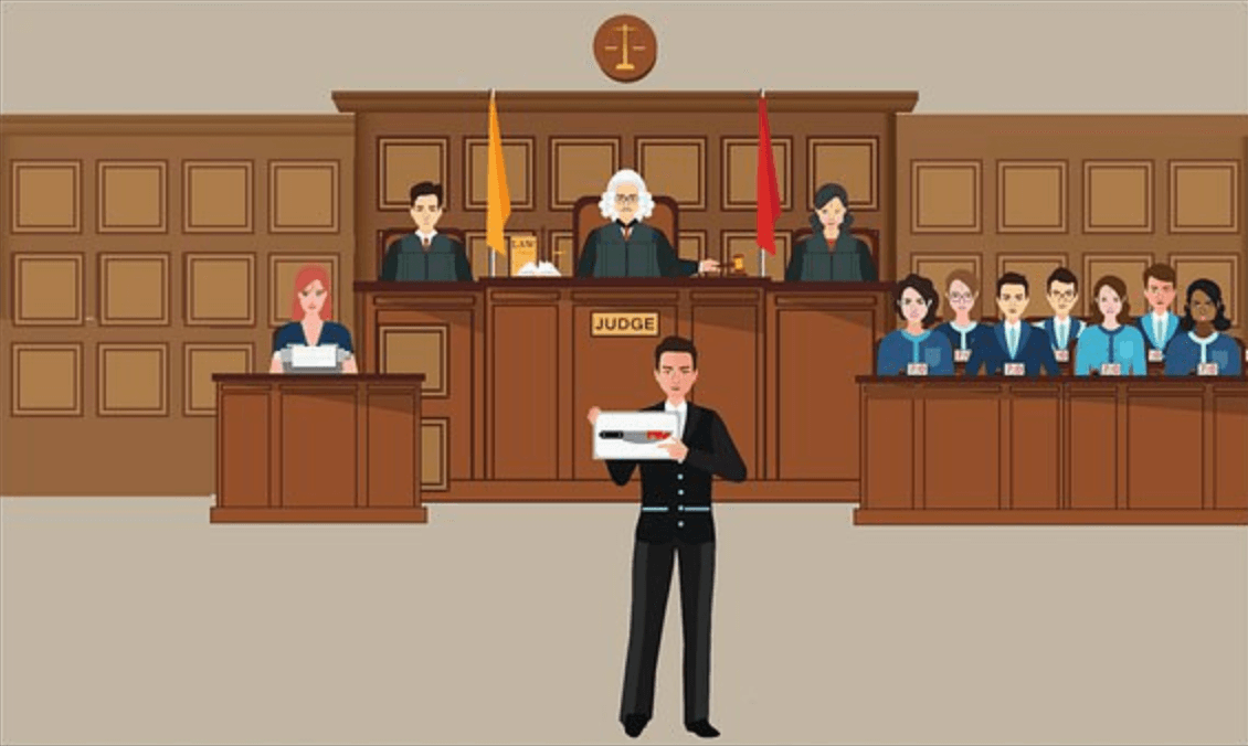 court lawyer