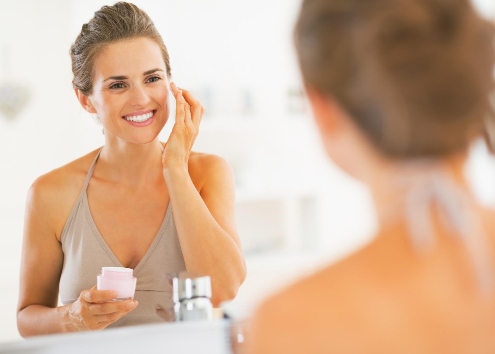 woman beauty ritual