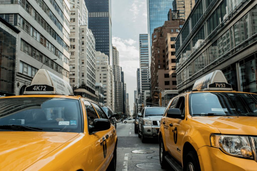 taxi road traffic