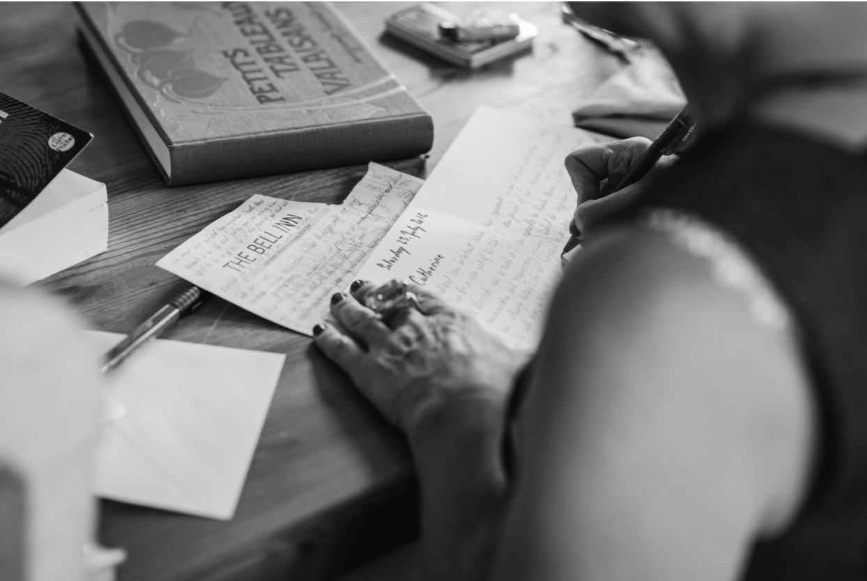writting invitation