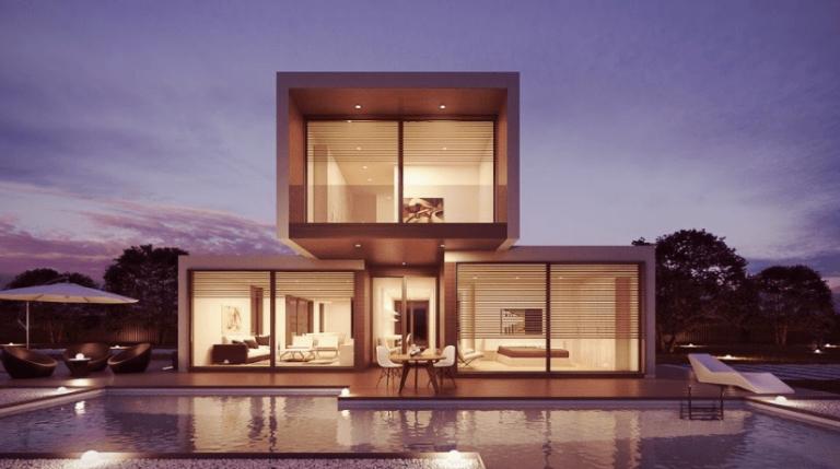 house pool interior design