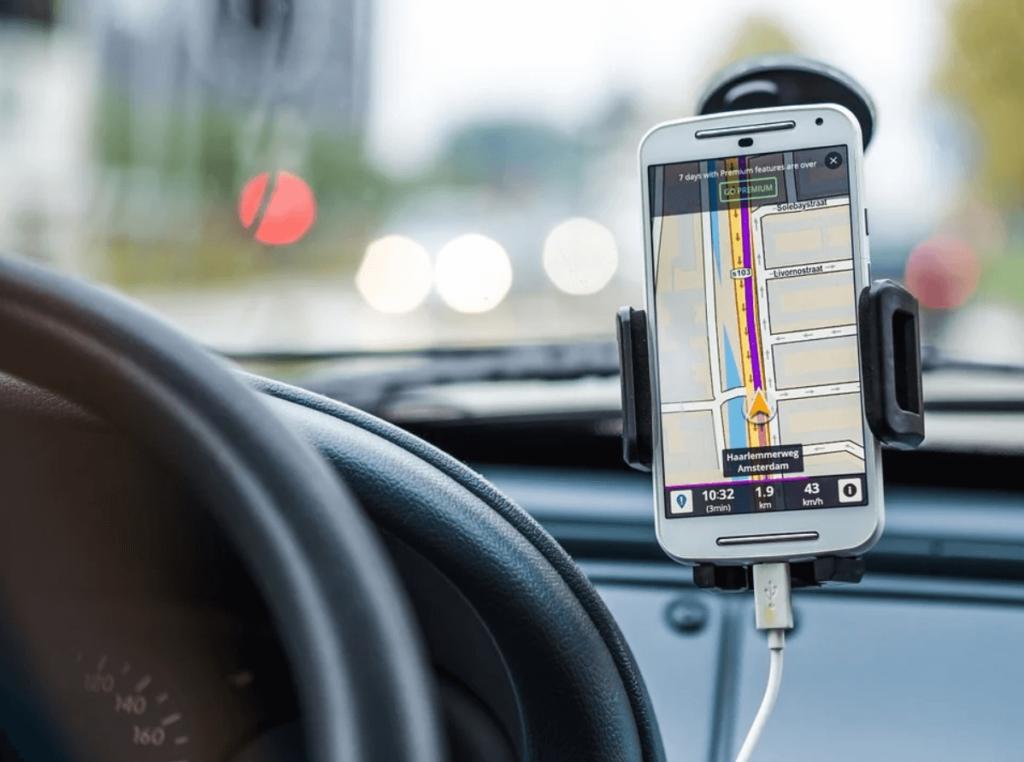 phone navigation