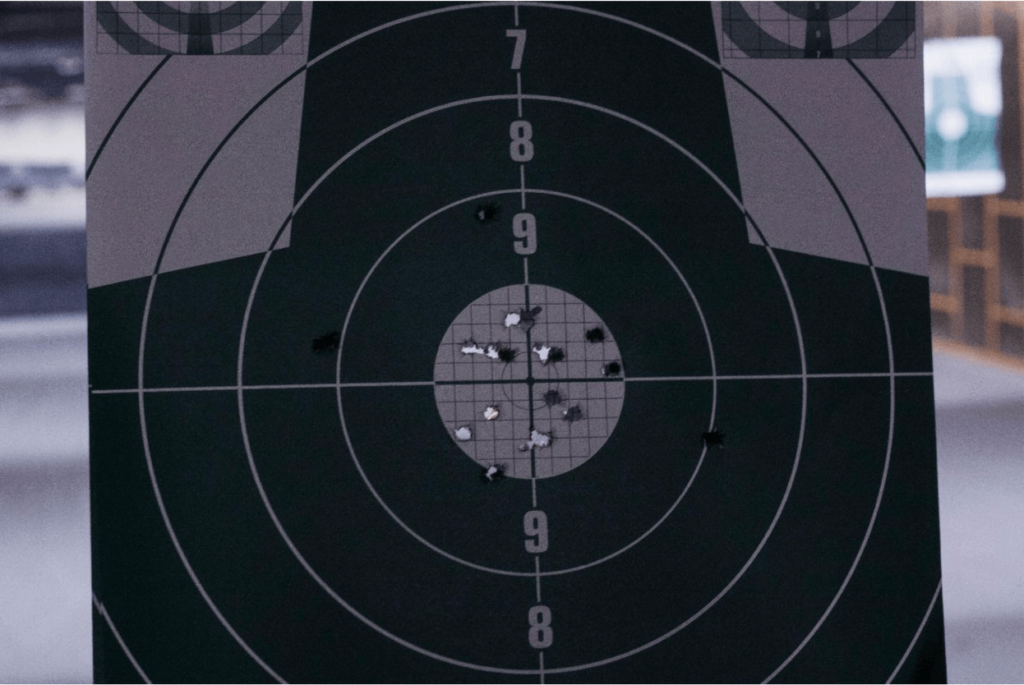 shooting point