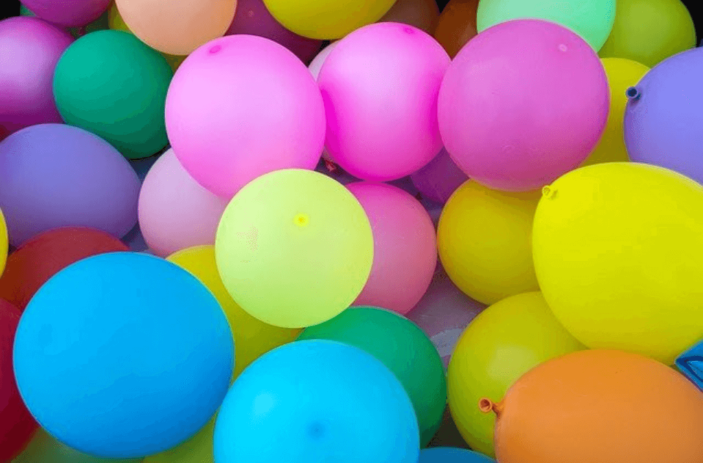 baloons colors