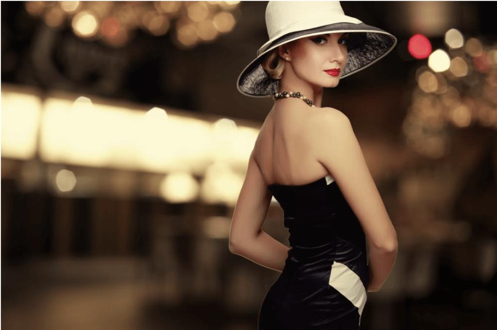 vintage style lady